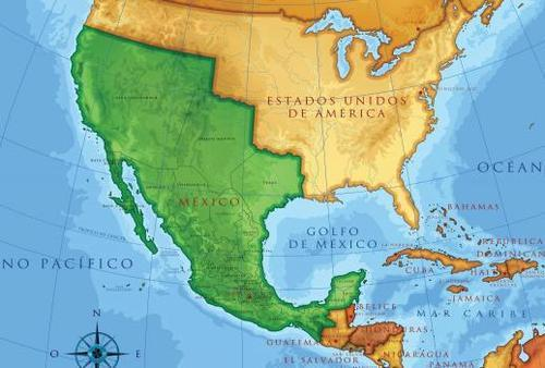 What The Treaty Of Guadalupe Hidalgo Actually Says Race Politics - Us-and-mexico-map