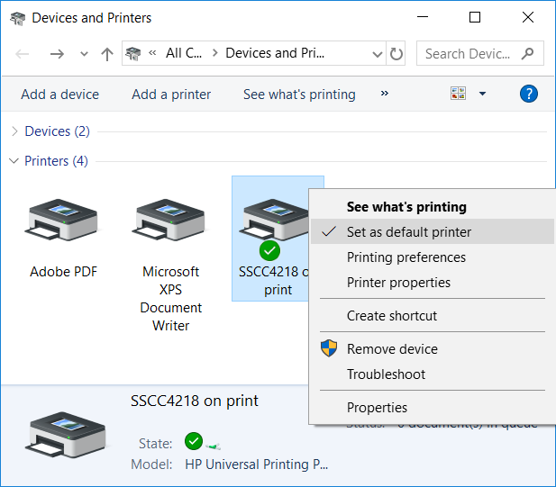 Setting Up Network Printers in Windows