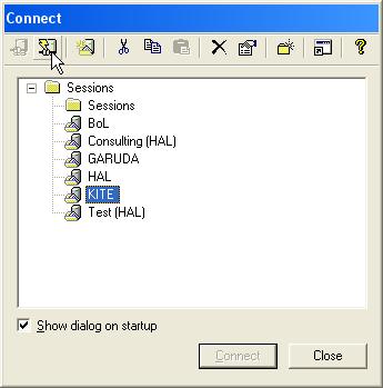 Transferring Files Using SecureFX