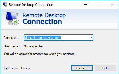 Connecting to Your Office Computer Using Remote Desktop