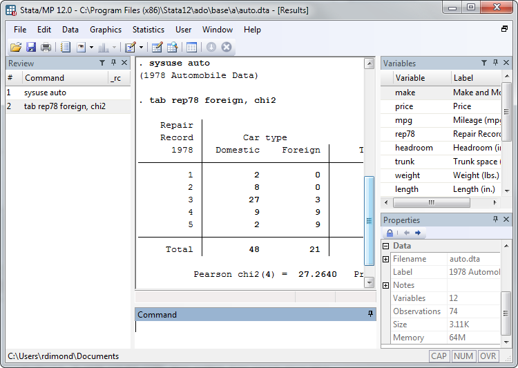 Stata For Students Using Stata