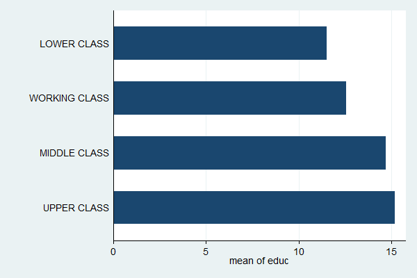 how to make a value categorical in stata